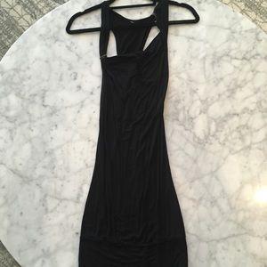 Dresses & Skirts - Black long sleeveless dress